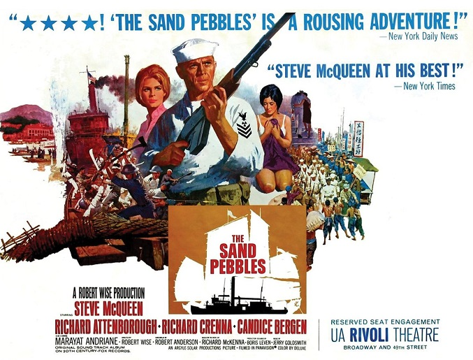 an analysis of the movie sand pebbles This is what makes the sand pebbles a great film the fate of a group of fairly unruly and at times unpleasant china sailors is unlikely to inspire much interest.